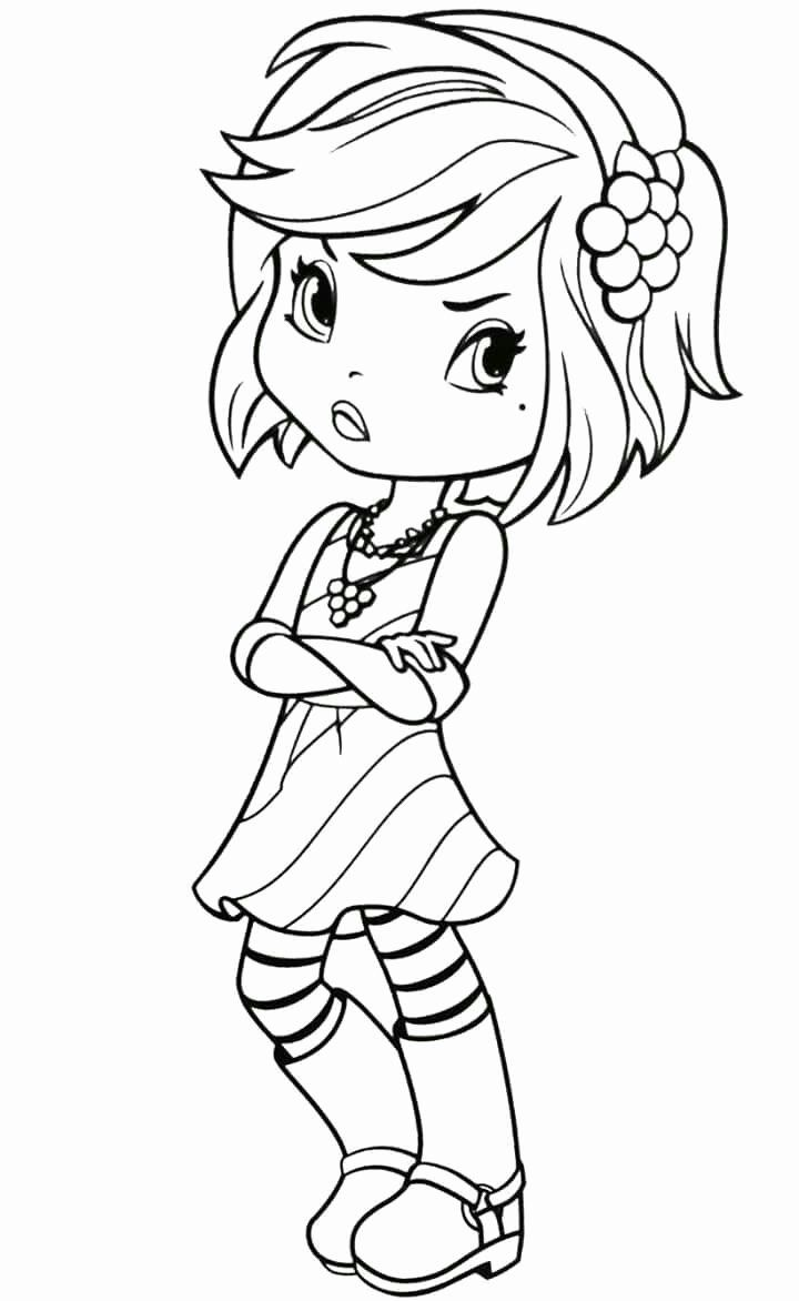 strawberry girl coloring pages strawberry girl coloring pages coloring strawberry girl pages