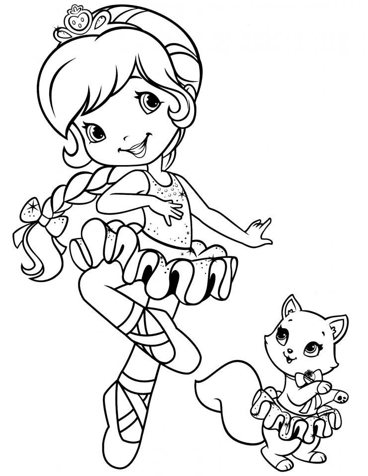 strawberry girl coloring pages strawberry shortcake gardening girlie girl39s coloring pages coloring strawberry girl