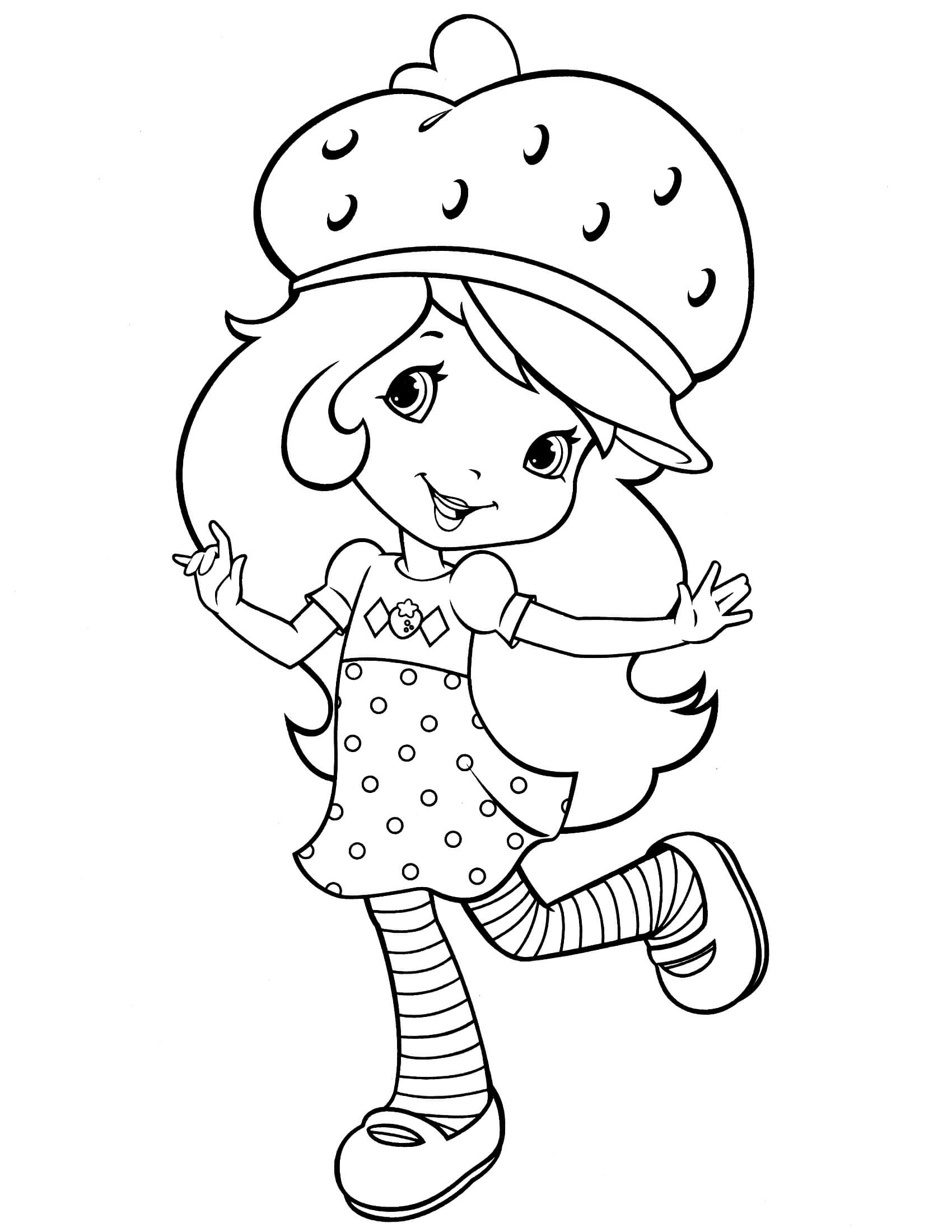 strawberry girl coloring pages sweet girl sketch strawberry shortcake coloring pages strawberry girl coloring pages