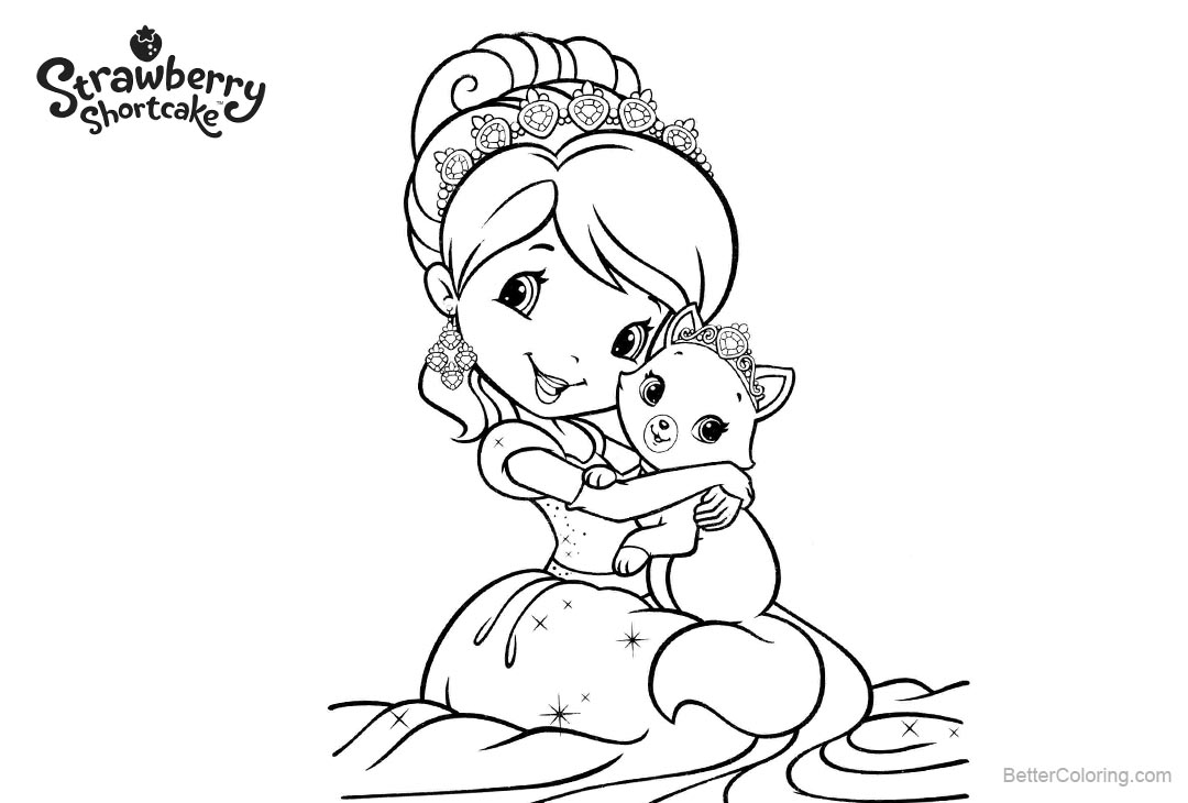 strawberry girl coloring pages wallpaper strawberry shortcake 64 images pages girl strawberry coloring