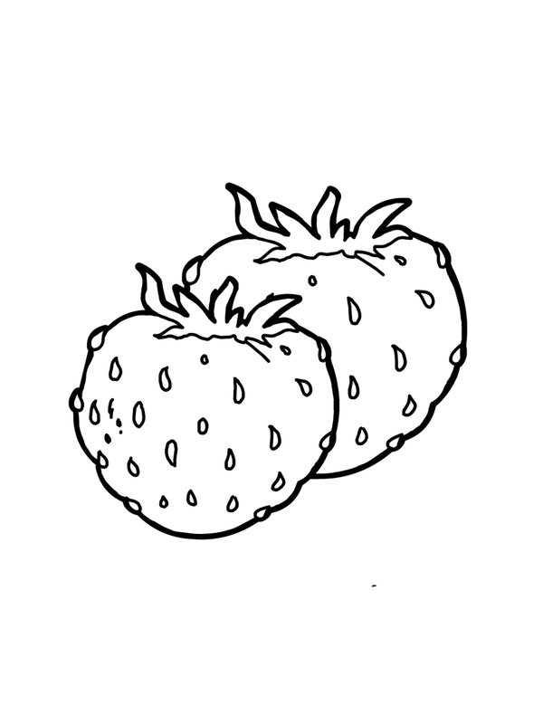 strawberry printable free coloring pages printable strawberry coloring pages strawberry printable 1 1