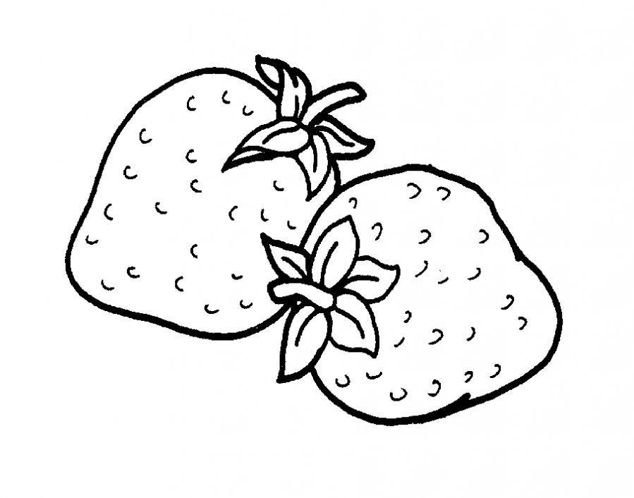 strawberry printable strawberries coloring pages coloring pages to download strawberry printable 1 2