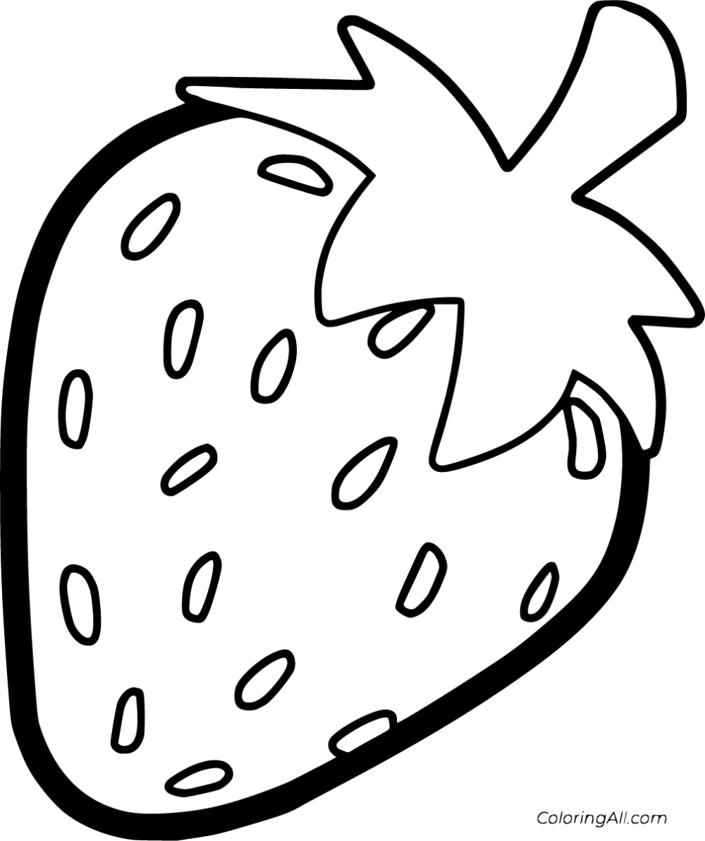 strawberry printable strawberry coloring page free printable coloring pages printable strawberry