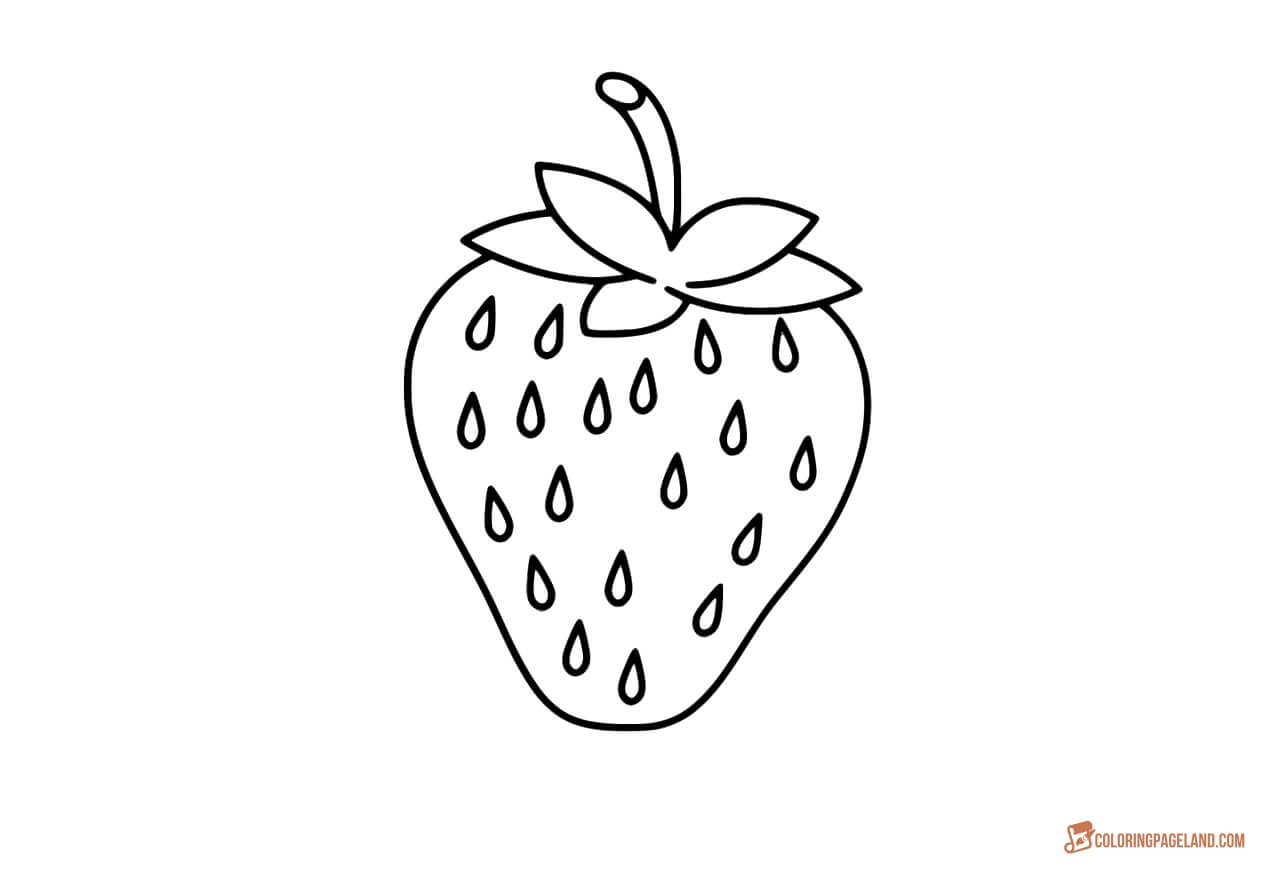 strawberry printable strawberry colouring page part 2 free resource for printable strawberry