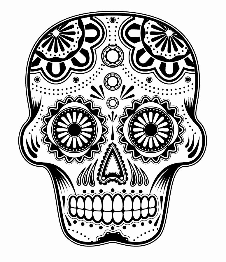 sugar skull template excited to share this item from my etsy shop sugar skull sugar skull template