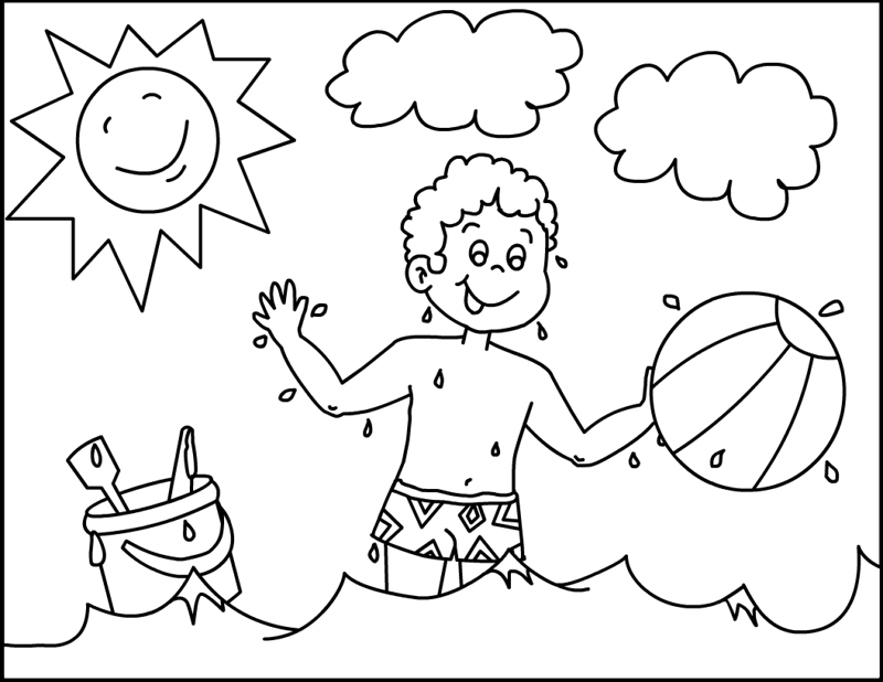 sunny day coloring book o great sunny day lets have some fun coloring page day sunny coloring book