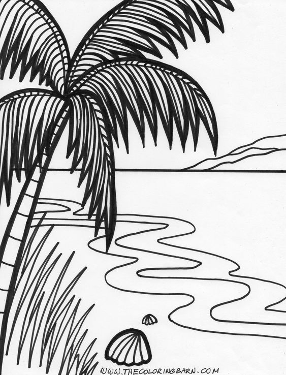 sunset coloring beach sunset coloring pages at getcoloringscom free sunset coloring