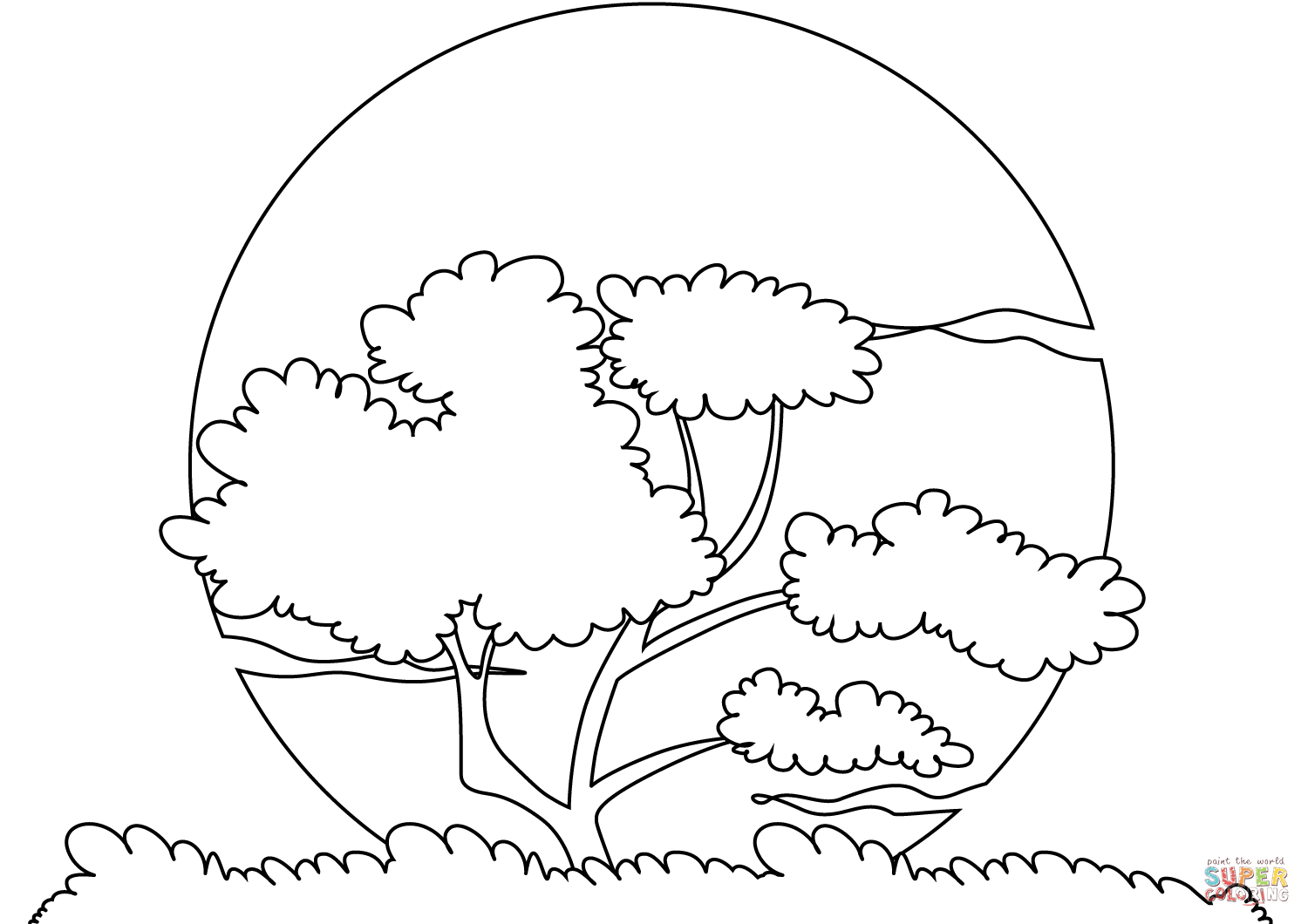 sunset coloring black and white sunset drawing at getdrawings free download coloring sunset