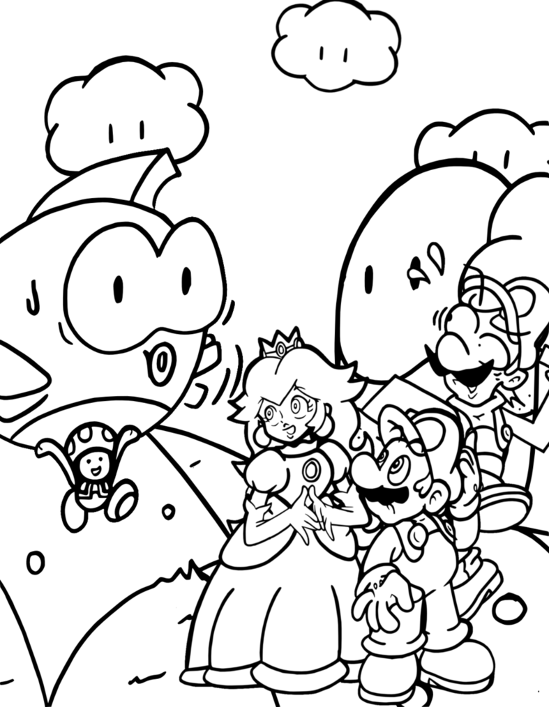 super mario world coloring pages video game coloring pages cool2bkids world pages super mario coloring
