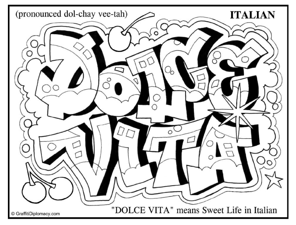 swag graffiti coloring pages graffiti coloring pages free download on clipartmag swag pages coloring graffiti