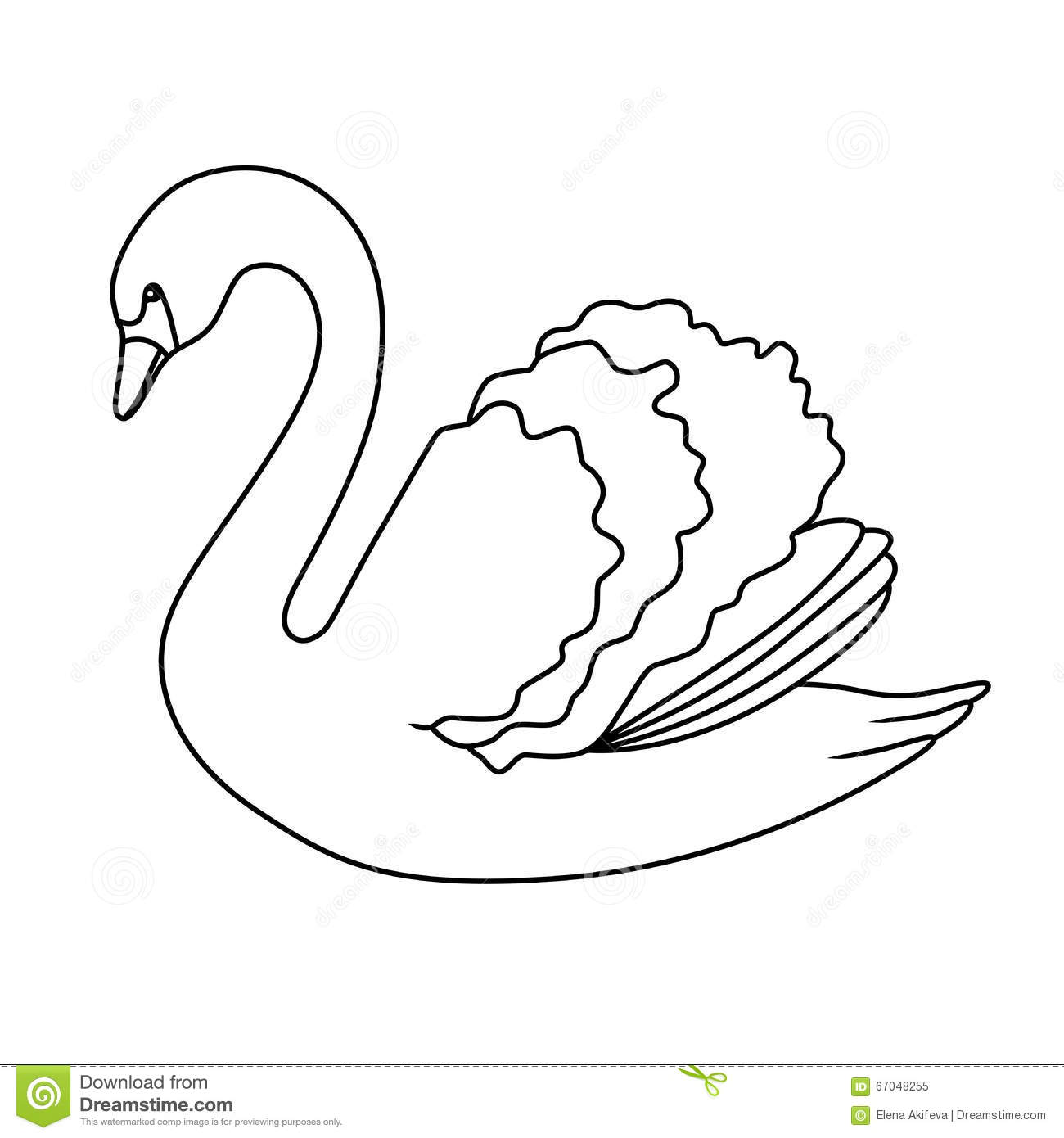 swan outline drawings free swan coloring pages coloring pages bird coloring outline drawings swan
