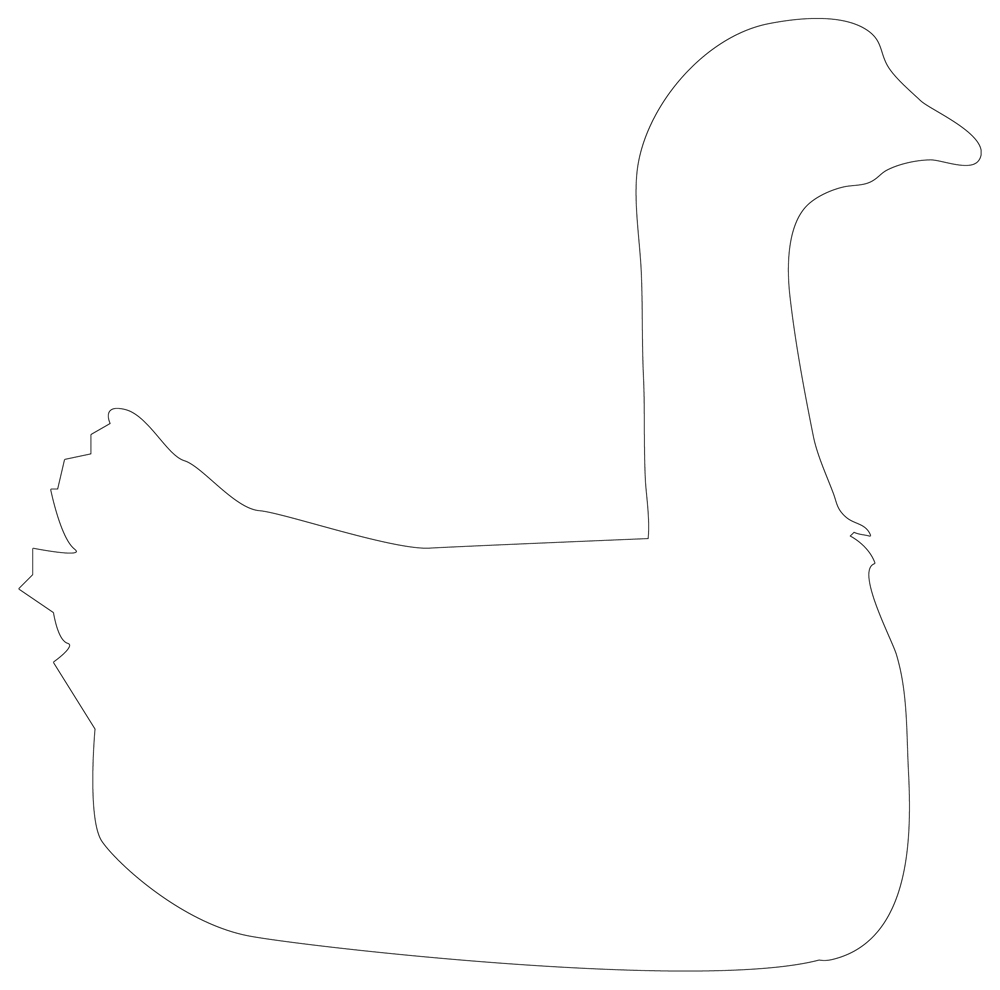 swan outline drawings royalty free rf clipart illustration of a swan outline swan drawings outline