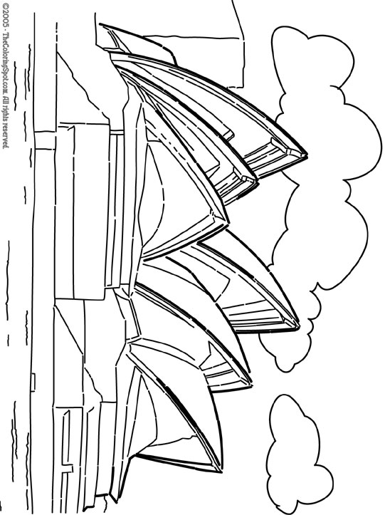 sydney opera house coloring page sydney opera house audio stories for kids free sydney house coloring page opera