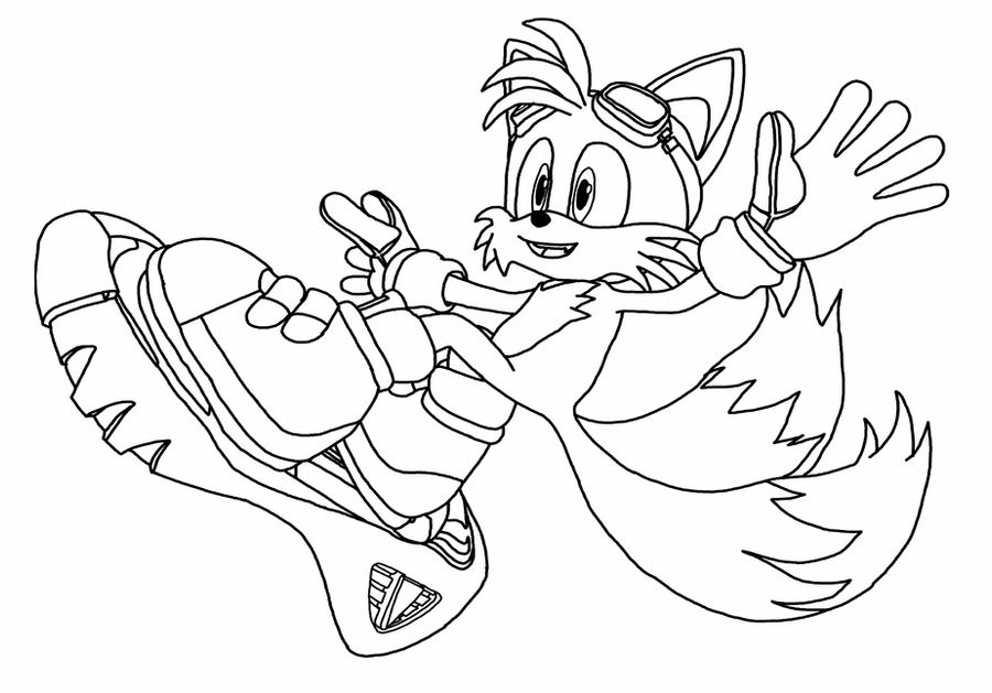 tails coloring page tails lineart by liamenietowlove on deviantart tails coloring page