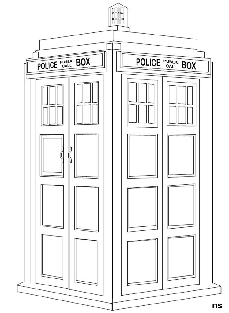 tardis colouring pages doctor who coloring page coloring pages doctor who tardis pages colouring