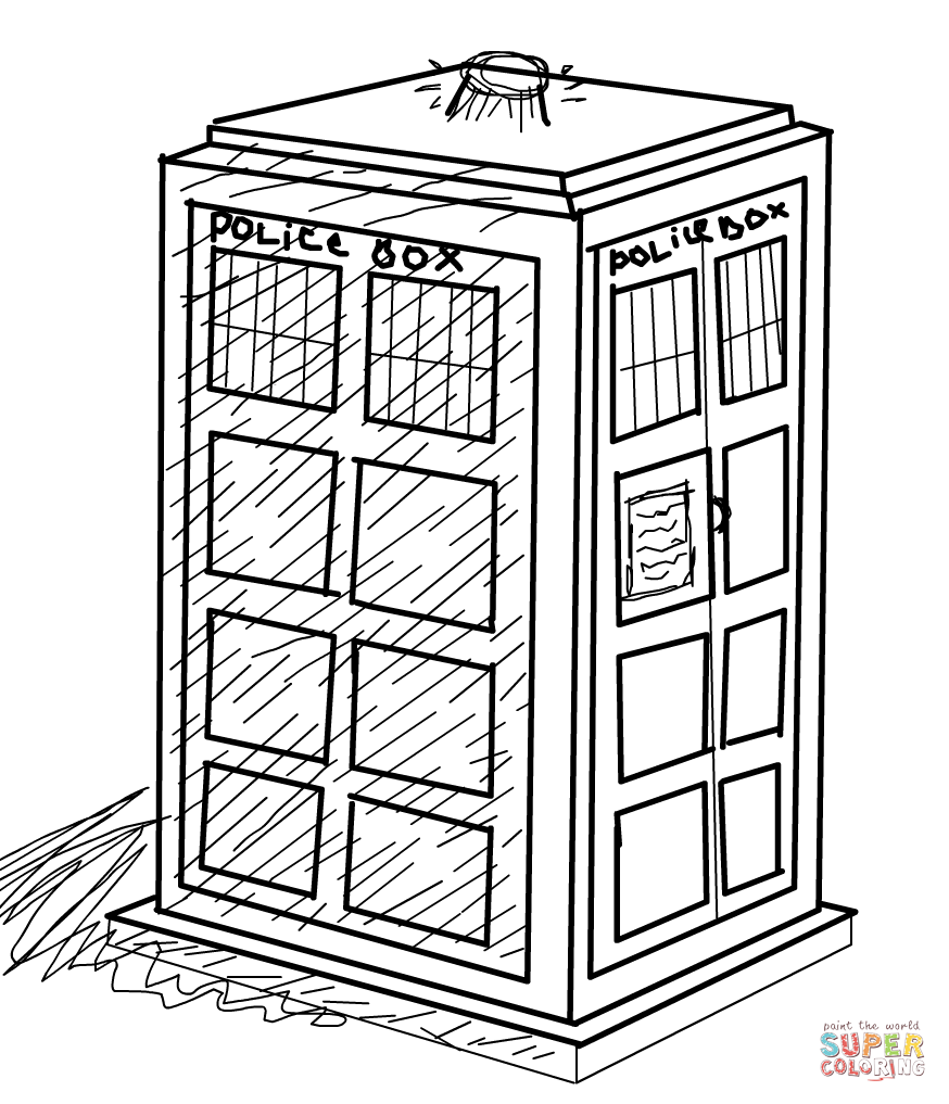 tardis colouring pages tardis coloring page doctor who coloring pages for colouring tardis pages