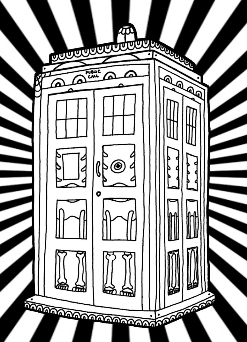 tardis colouring pages tardis doctor who pages coloring pages colouring tardis pages