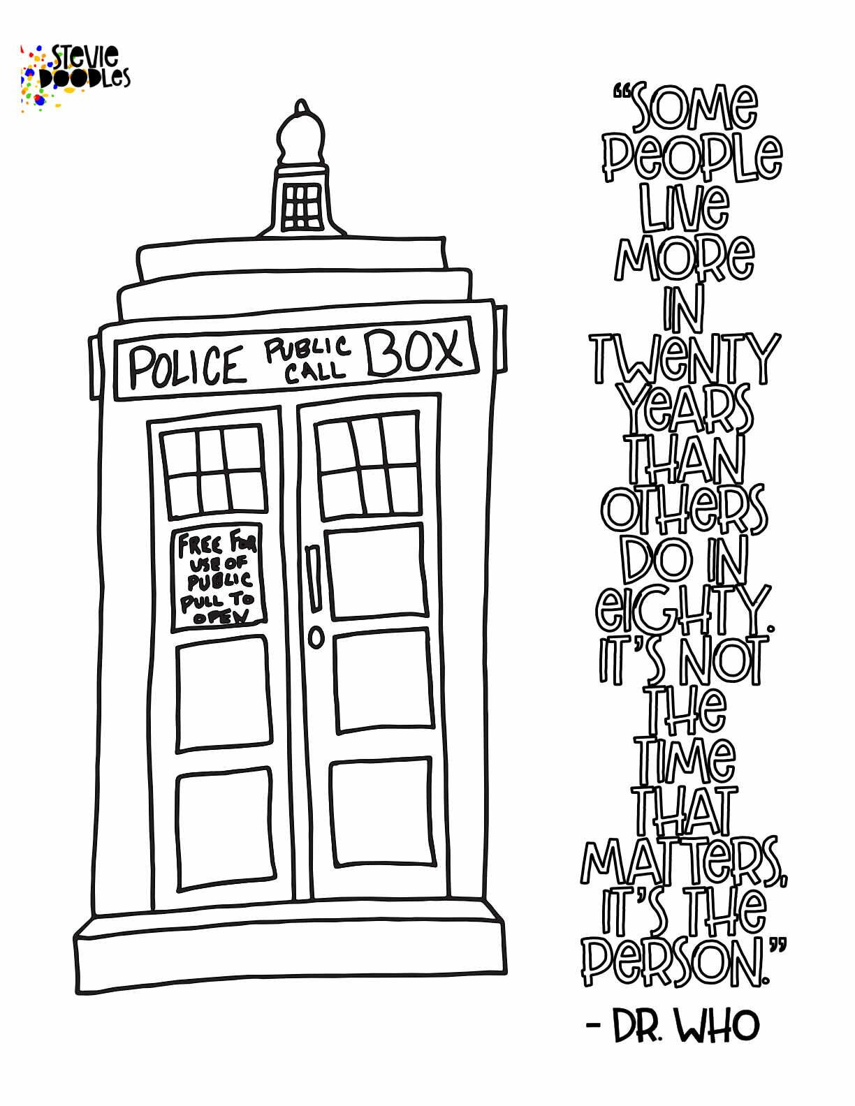 tardis colouring pages tardis with images coloring pages coloring books colouring pages tardis