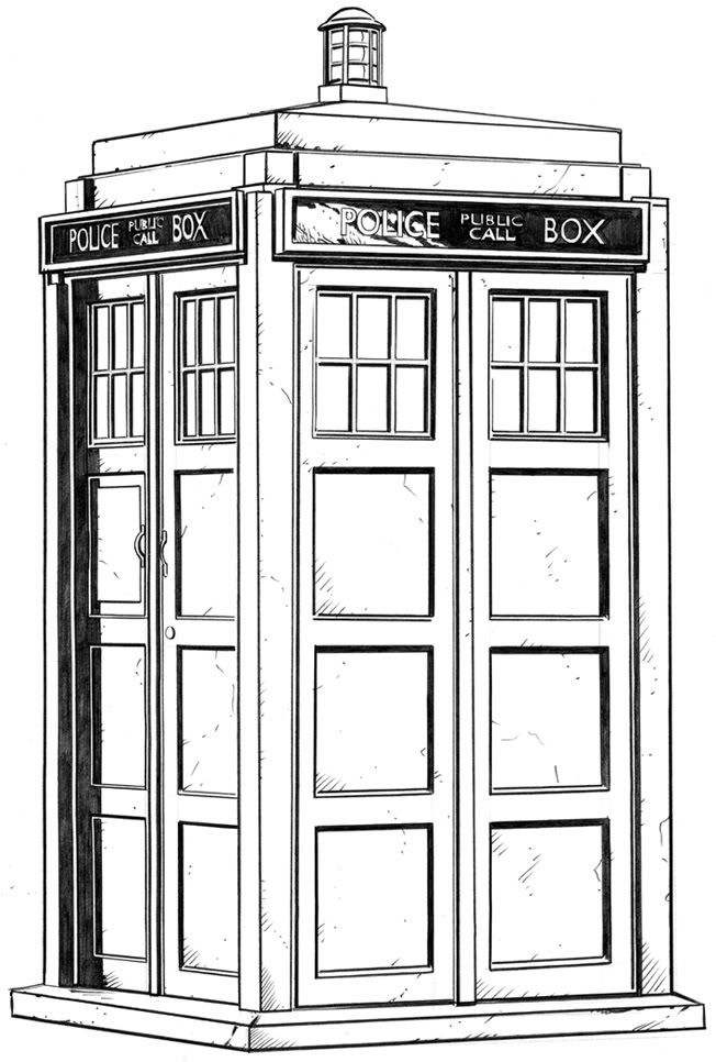 tardis colouring pages the tardis coloring page free printable coloring pages pages colouring tardis
