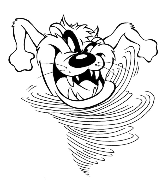 tasmanian devil drawing taz devil cartoon clipartsco devil tasmanian drawing