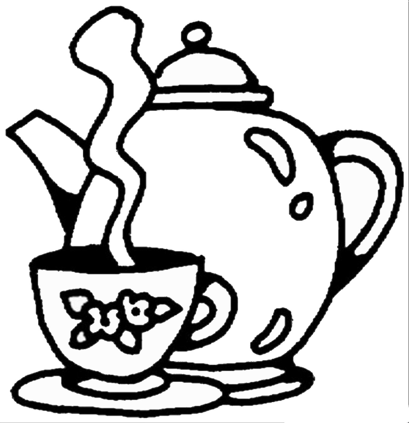 tea party colouring pages color and cook tea party by monica wellington dover tea pages colouring party