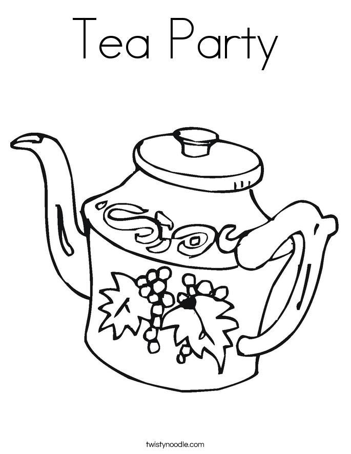 tea party colouring pages tea party coloring pages to download and print for free colouring tea pages party