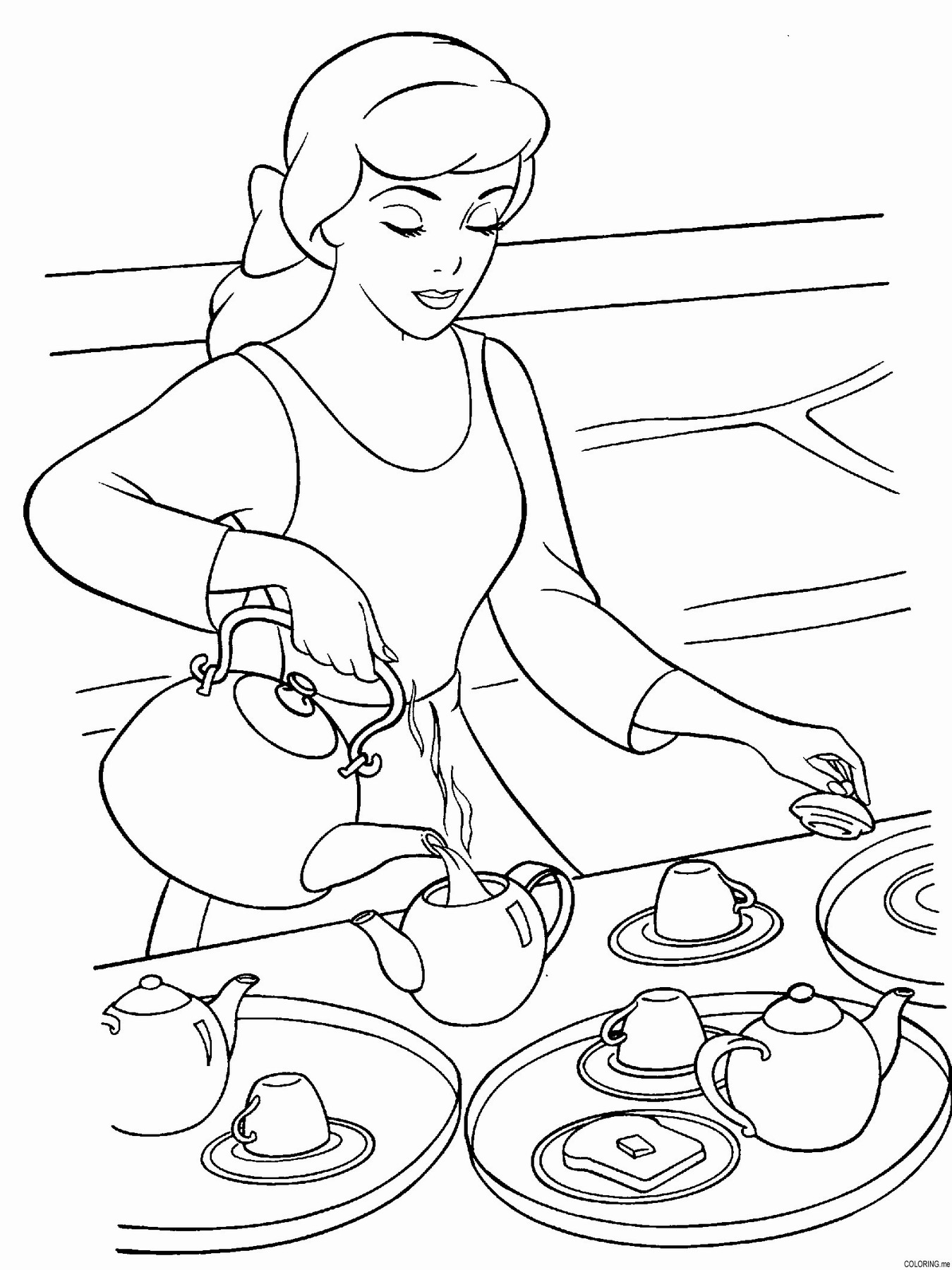 tea party colouring pages tea party coloring pages to download and print for free tea pages party colouring