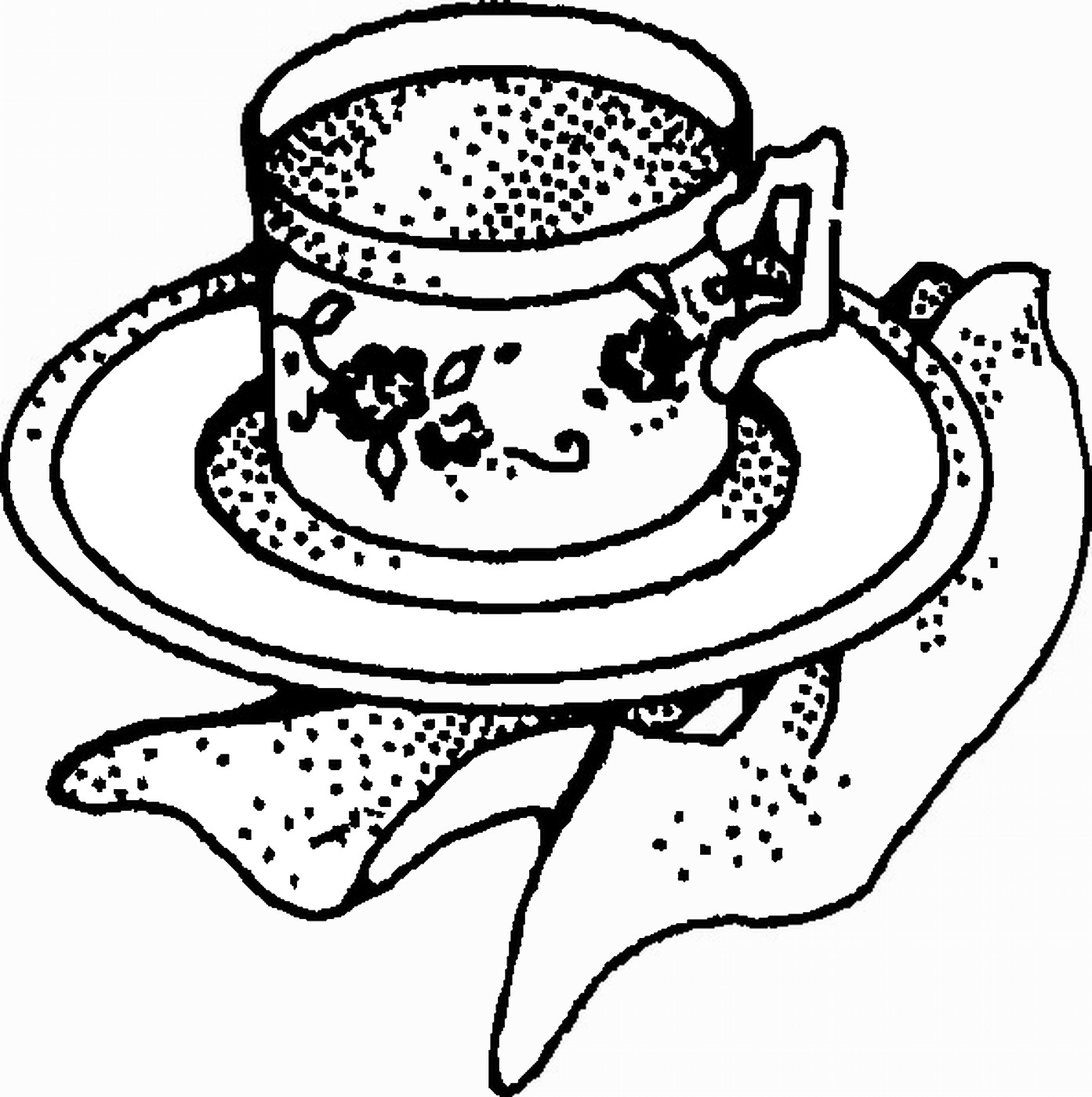 tea party colouring pages tea party coloring pages to download and print for free tea pages party colouring 1 1