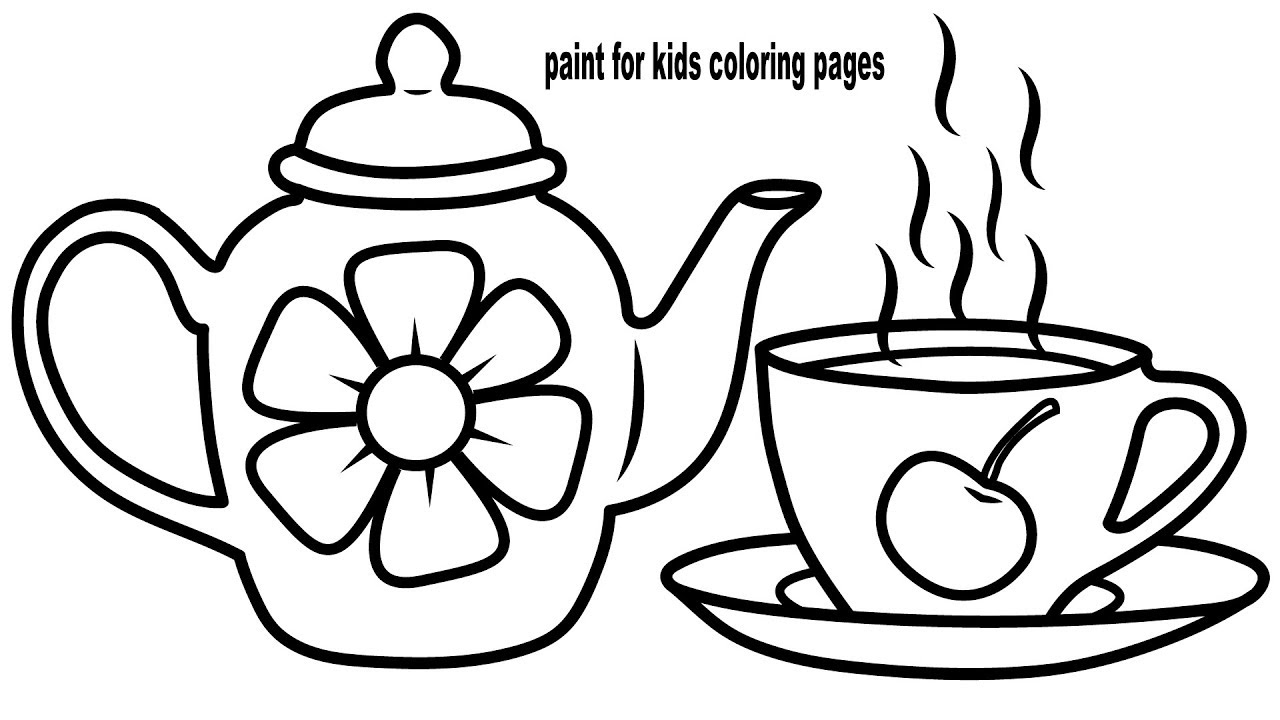 teapot colouring teapot flower coloring page wecoloringpagecom teapot colouring