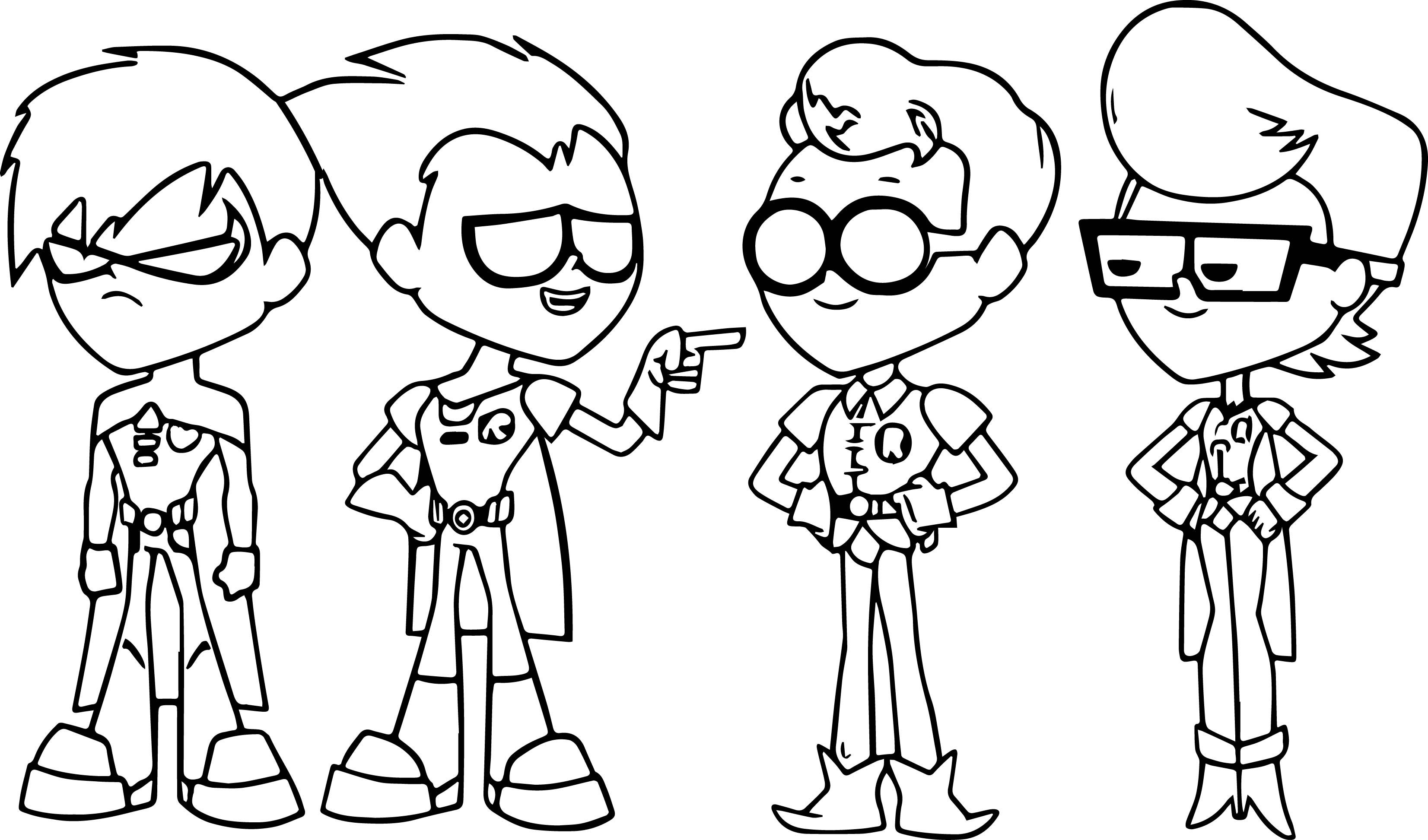 teen titans coloring team titans coloring pages at getdrawings free download teen titans coloring