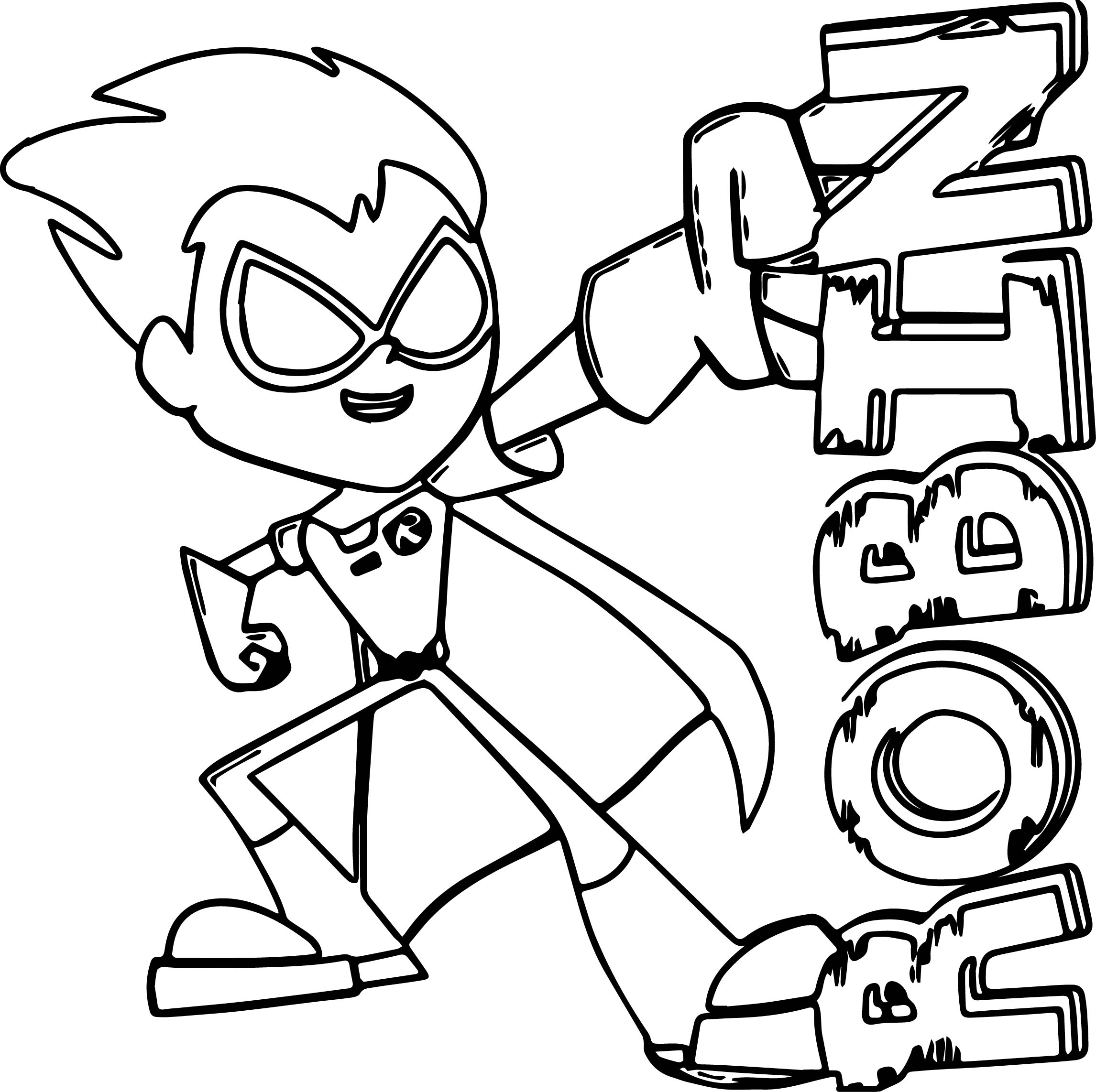 teen titans coloring teen titans go black and white 10 free hq online puzzle teen titans coloring