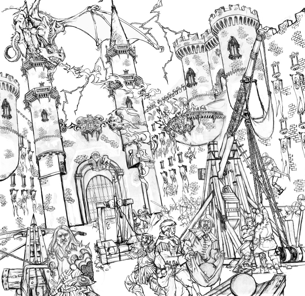 The hobbit colouring pages