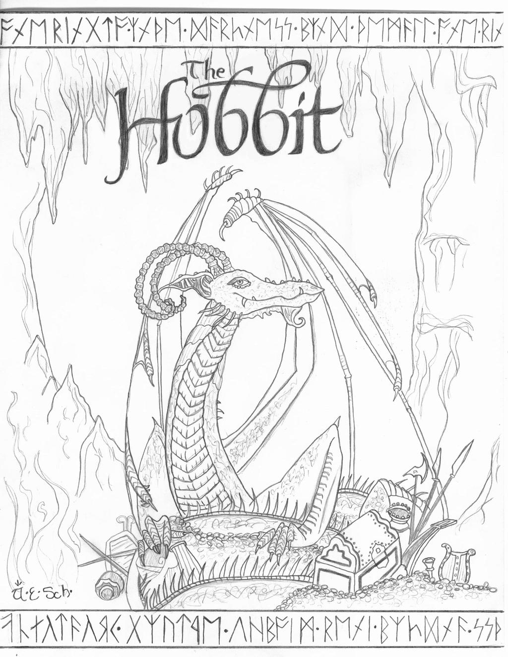 the hobbit colouring pages adult coloring page hobbit house from lord of the rings etsy colouring hobbit the pages