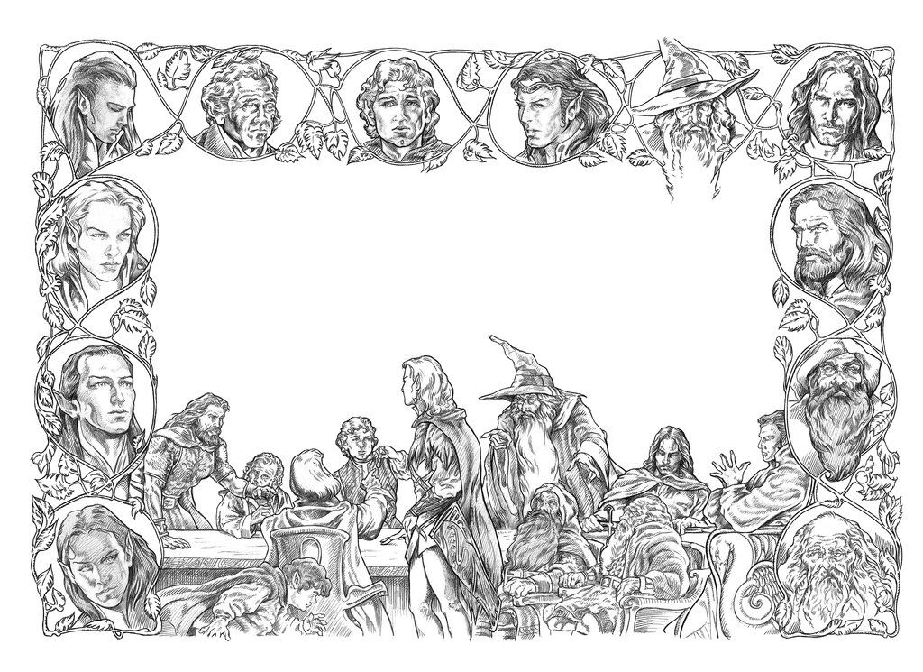 the hobbit colouring pages free coloring page coloring movie hobbitladesolationde hobbit the colouring pages