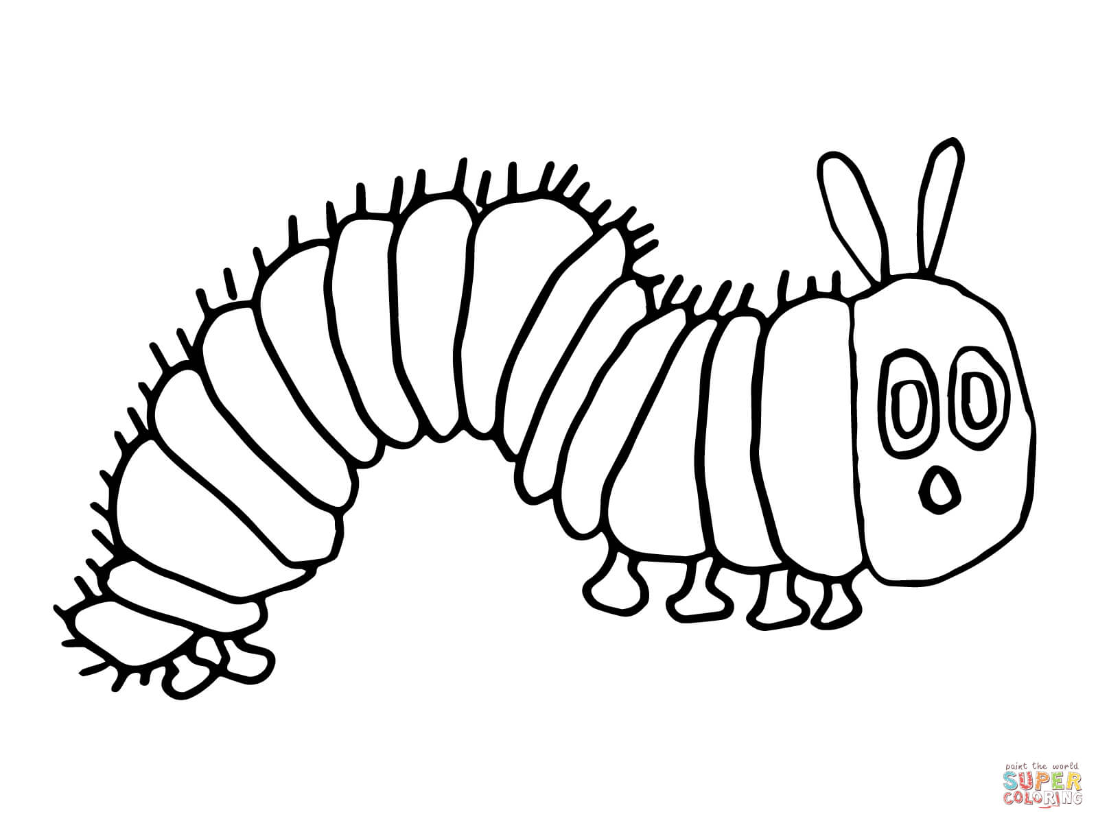 the hungry caterpillar coloring page 25 awesome picture of hungry caterpillar coloring pages the coloring caterpillar page hungry