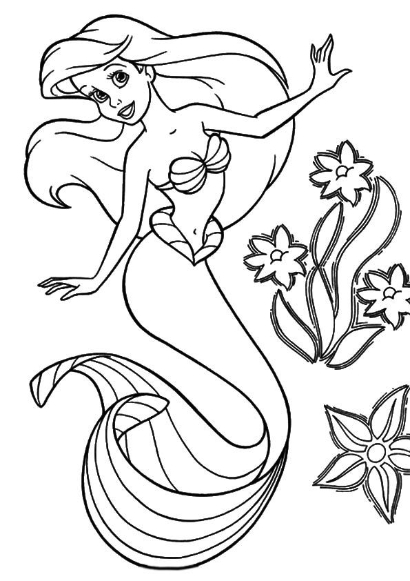 the little mermaid coloring page little mermaid coloring pages coloring pages little the page coloring mermaid