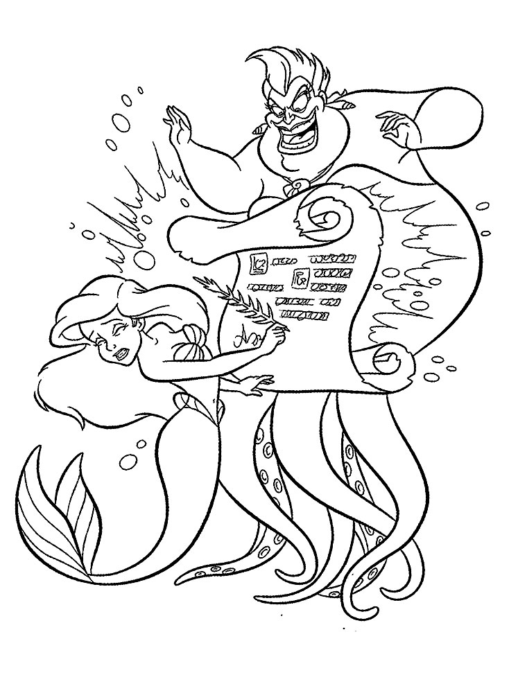 the little mermaid coloring page print coloring image momjunction mermaid coloring mermaid coloring the little page