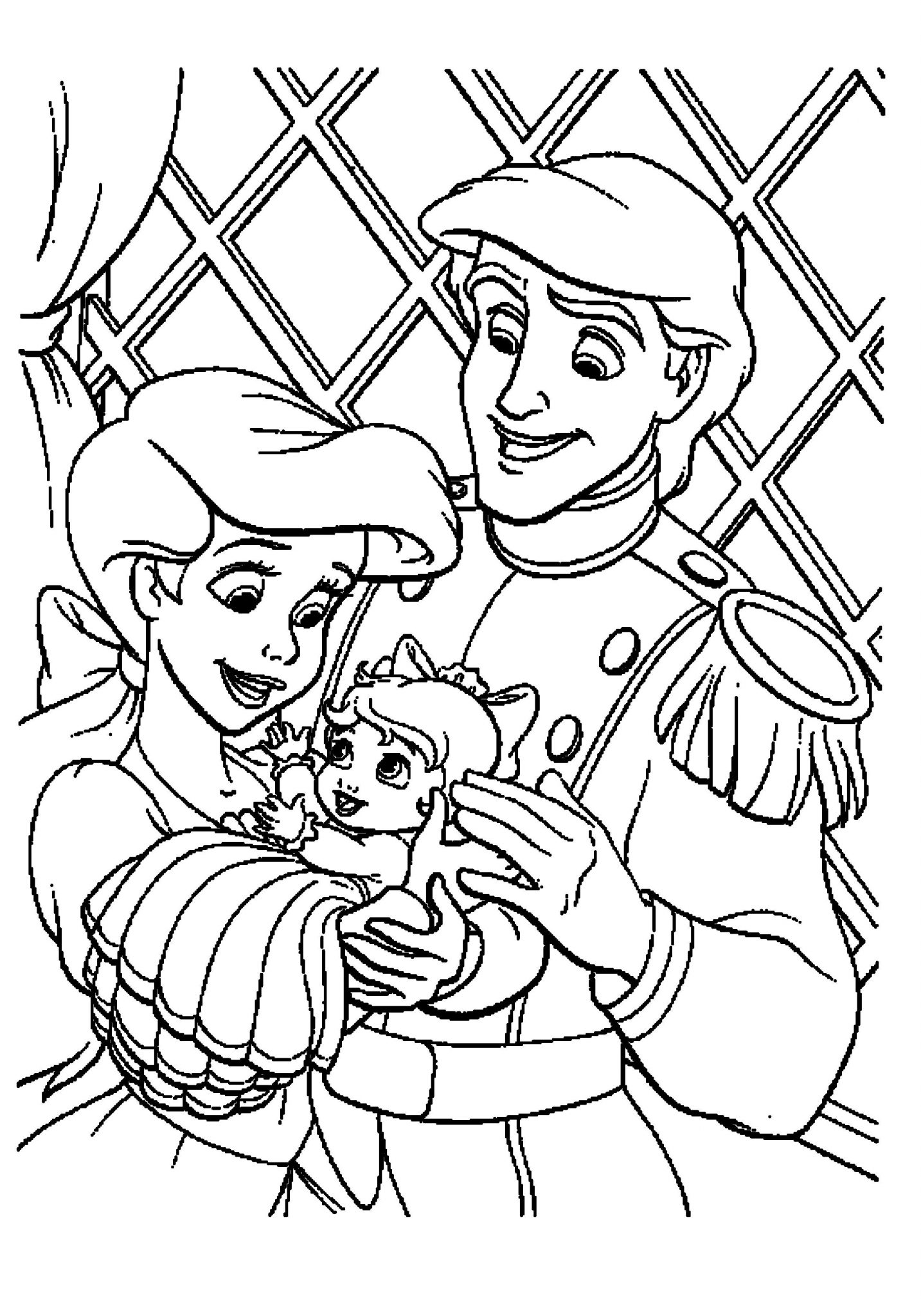 the little mermaid coloring page the little mermaid coloring pages allkidsnetworkcom the mermaid coloring page little