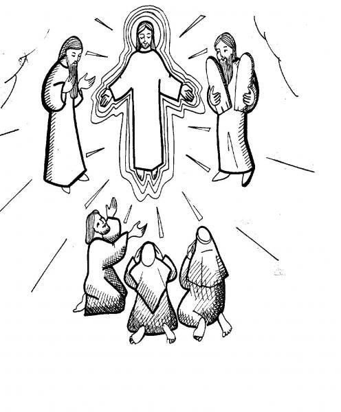 the transfiguration of jesus coloring page 32 jesus second coming coloring pages transfiguration page of jesus the coloring