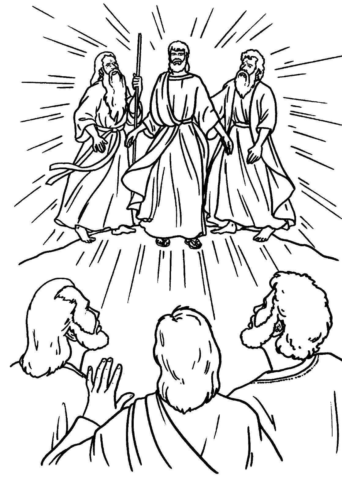 the transfiguration of jesus coloring page jesus transfiguration coloring page coloring home page jesus of the transfiguration coloring