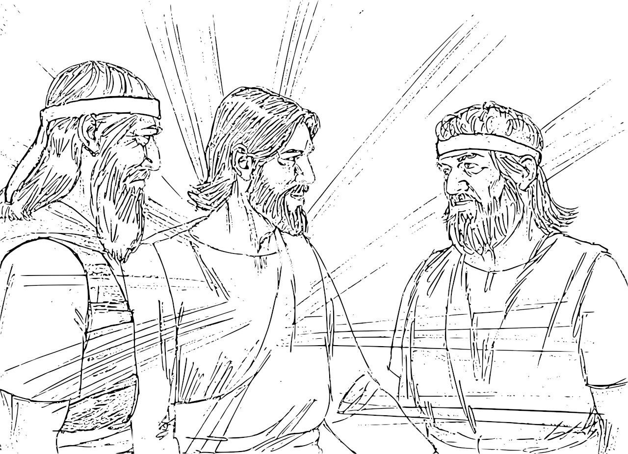 the transfiguration of jesus coloring page transfiguration of jesus coloring page catholic crafts page jesus coloring of the transfiguration