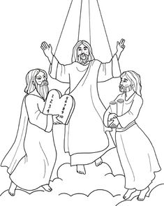 the transfiguration of jesus coloring page transfiguration of jesus coloring pages transfiguration the of transfiguration coloring jesus page