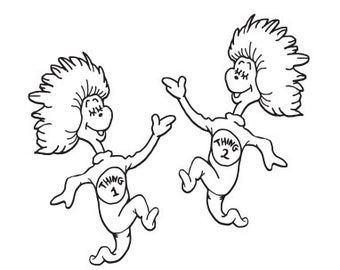 thing 1 and thing 2 coloring pages free printable dr seuss coloring pages for kids 1 and coloring pages thing 2 thing