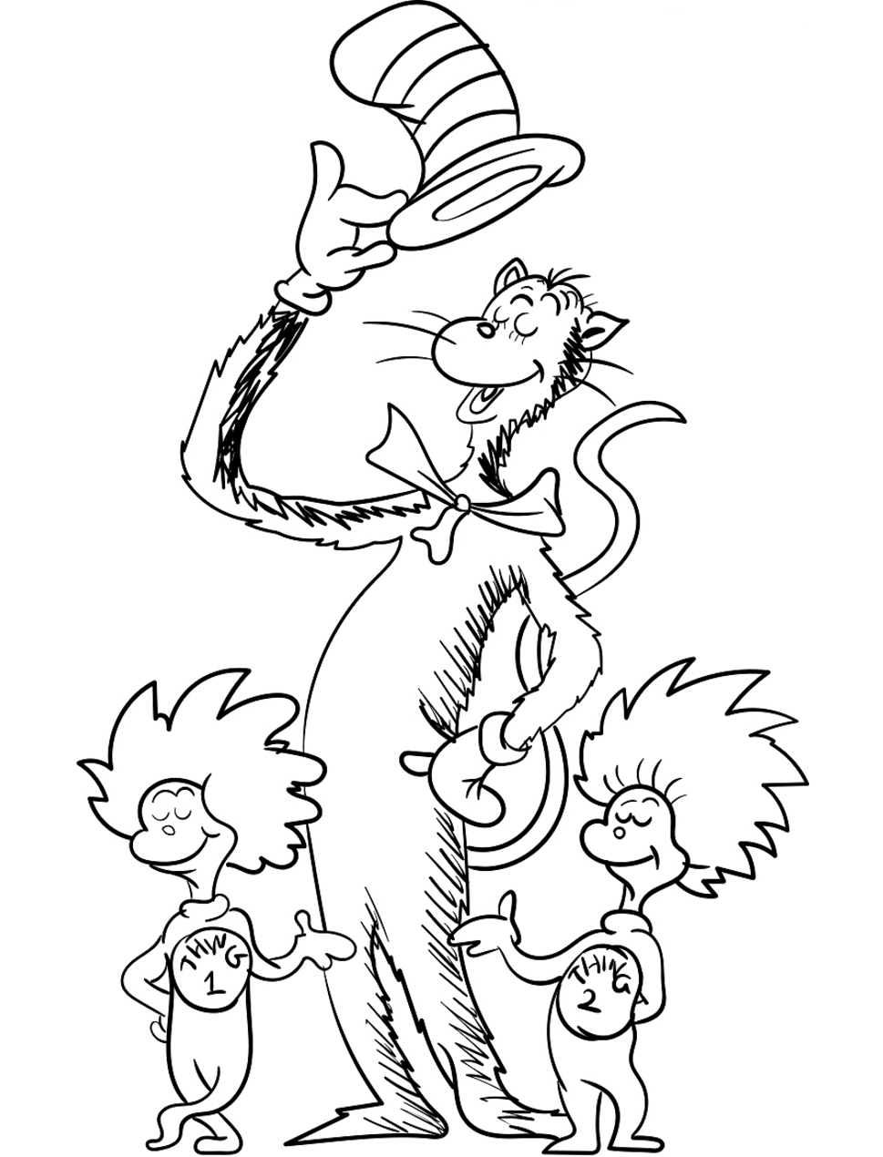 thing 1 and thing 2 coloring pages thing 1 and thing 2 roll and color dr seuss math seuss pages coloring thing 2 1 and thing
