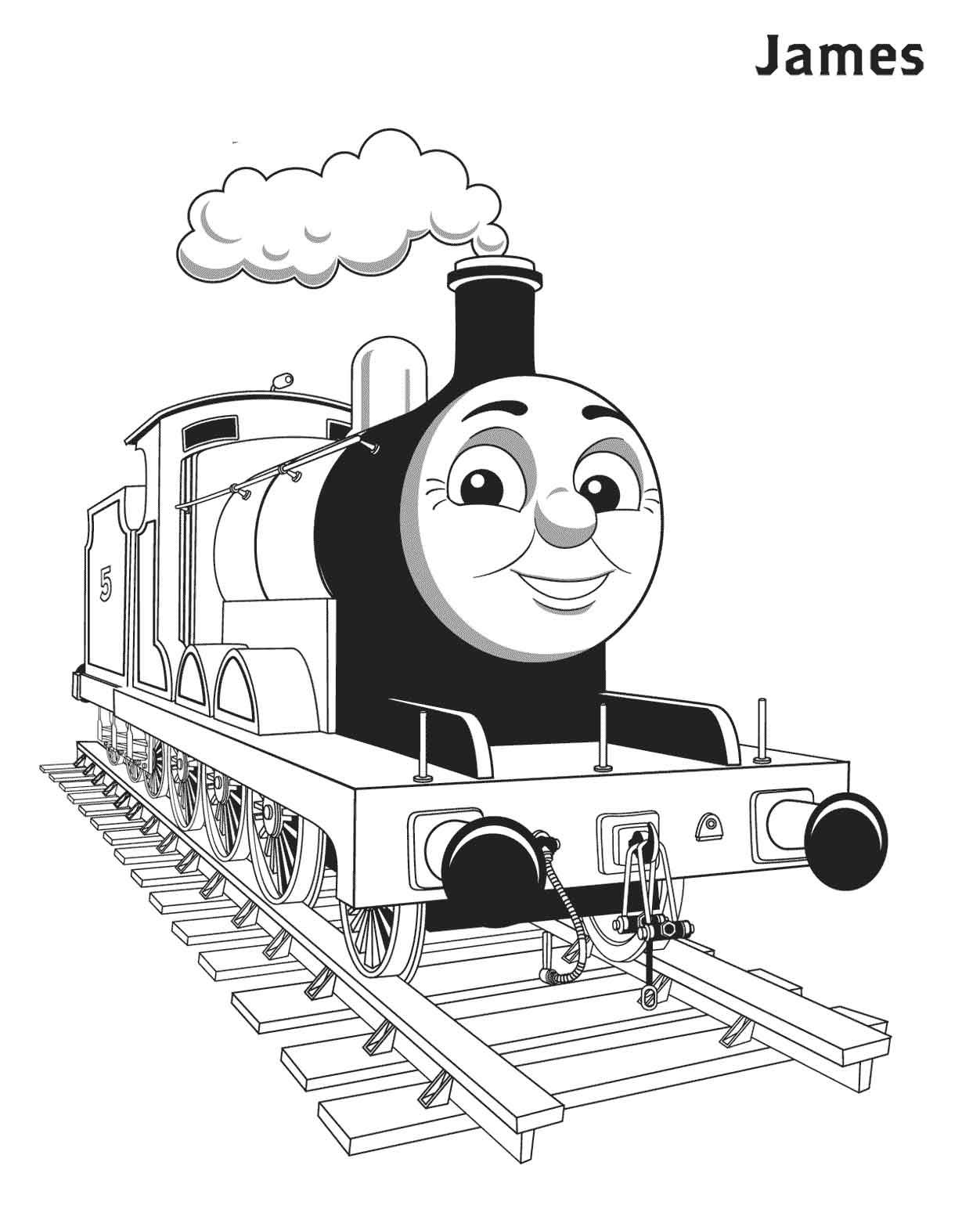 Thomas and friends coloring sheets