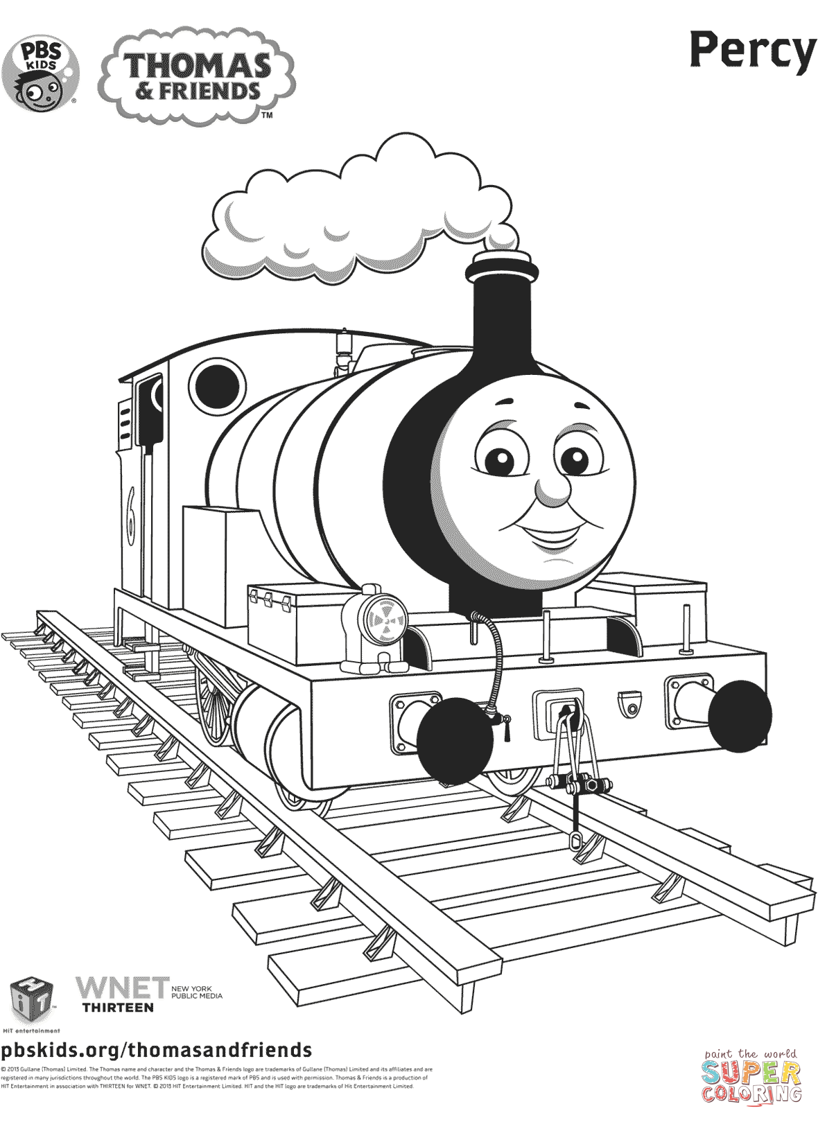 thomas and friends drawing pages percy from thomas friends coloring page free printable thomas drawing and friends pages