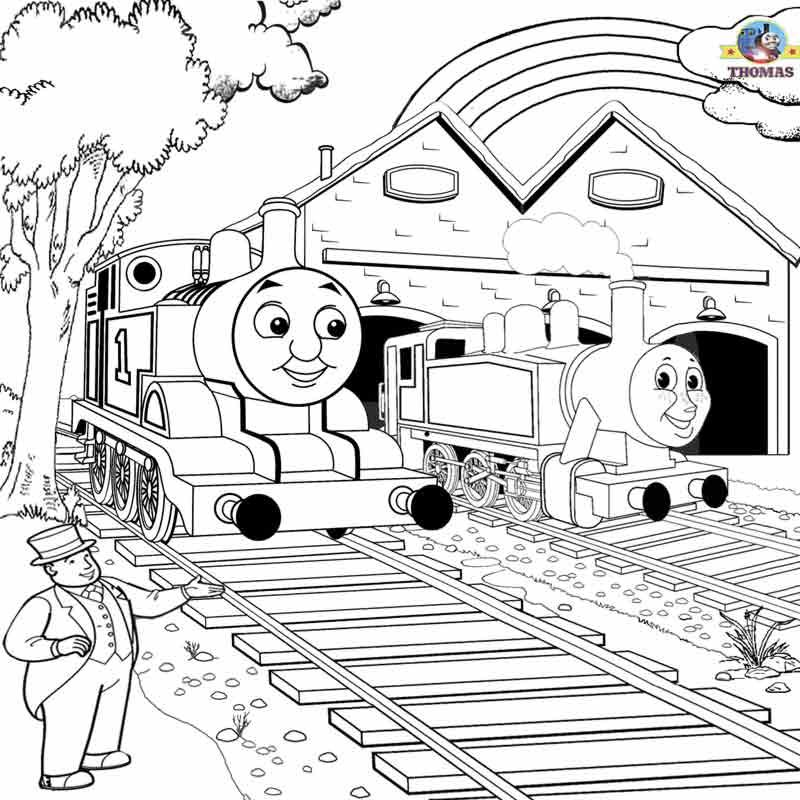 thomas and friends drawing pages thomas and friends coloring pages baggage for kids drawing pages thomas and friends