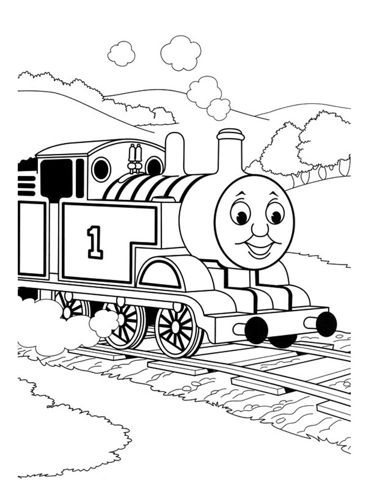 thomas and friends drawing pages thomas the train drawing at getdrawings free download friends thomas and pages drawing
