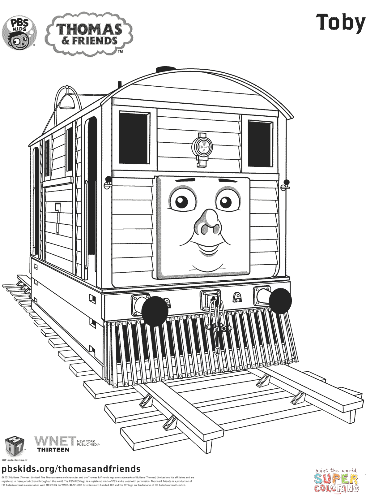 thomas and friends drawing pages toby from thomas friends coloring page free printable drawing pages thomas and friends