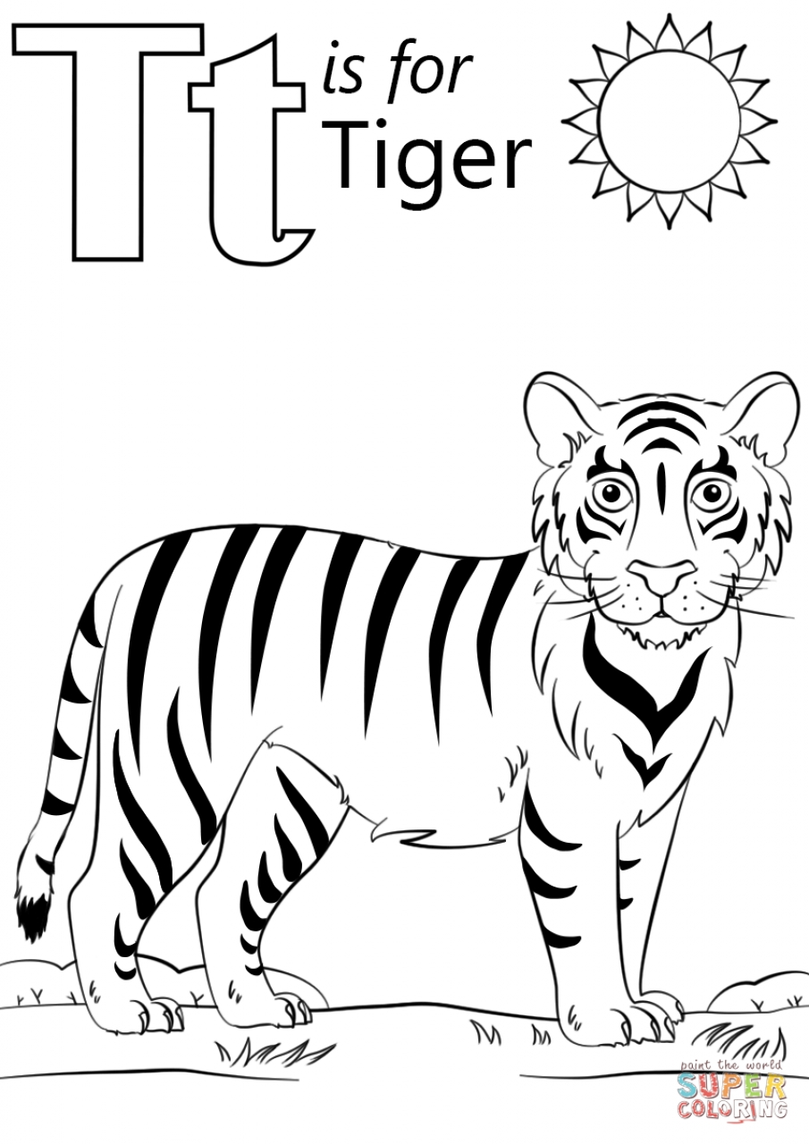 tiger images for colouring free printable tiger coloring pages for kids images colouring for tiger